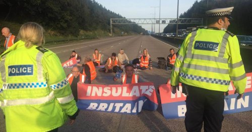 M25 protesters could face prison after Government secures injunction