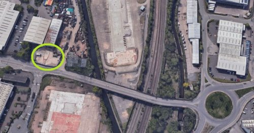 The city square deleted by Google Maps thanks to HS2