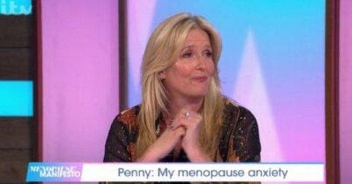Penny Lancaster breaks down on ITV Loose Women over personal change