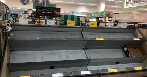 Food boss warns of shortages in shops due to lorry driver crisis