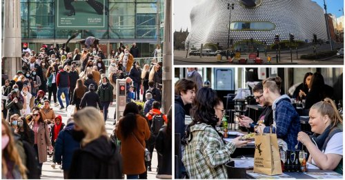 Shoppers and diners outside Brum urged to 'stay away' as Covid surges