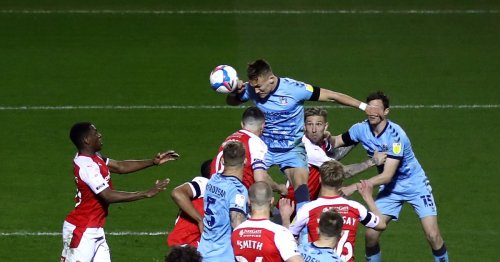 Coventry City fans celebrate Ostigard's heroics in Rotherham win