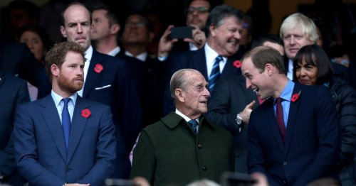 William shares Prince Philip's jaw-dropping reaction to teen swearing at him