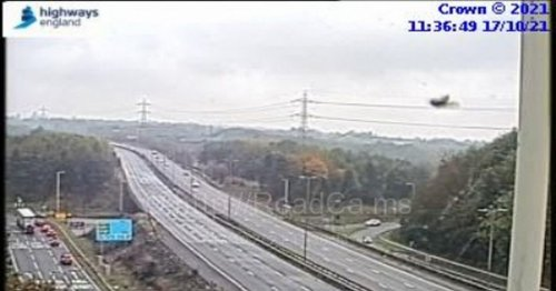 M5 junction shut following police incident - updates