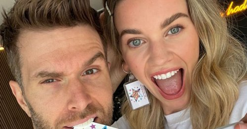 Celeb's important message as he poses for snap with well-known wife