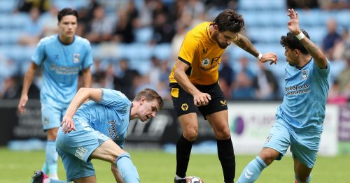 Sky Blues player ratings after 2-1 CBS Arena defeat against Wolves