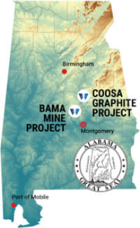 First U.S. Graphite Processing Plant to Be Built in Coosa County