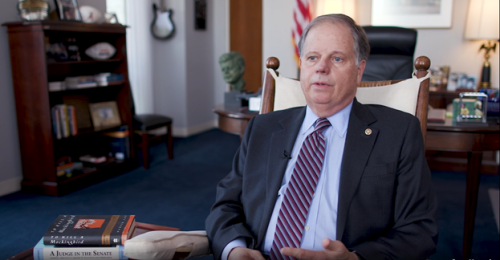 Former Sen. Jones Forms Right Side of History PAC to Support His Causes