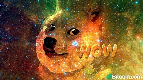 Dogecoin Markets Soar as Token Nears a Half Dollar, DOGE Price Climbs 18,299% in 12 Months – Altcoins Bitcoin News