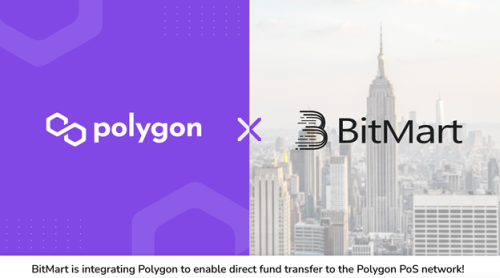 BitMart Announces New Integration with the Polygon Ecosystem