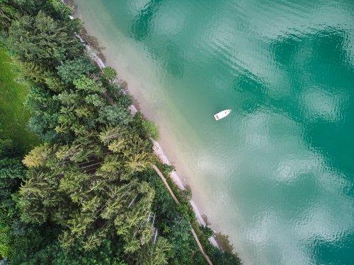 Blau, grün, türkis - Urlaub am wunderschönen Forggensee im Allgäu