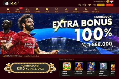 Ibet44 - Bandar Taruhan Bola Terpercaya - Situs Judi Agen Casino Online