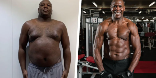 56-Year-Old Drops 90 Pounds & Gets Abs Proving It's Never Too Late!