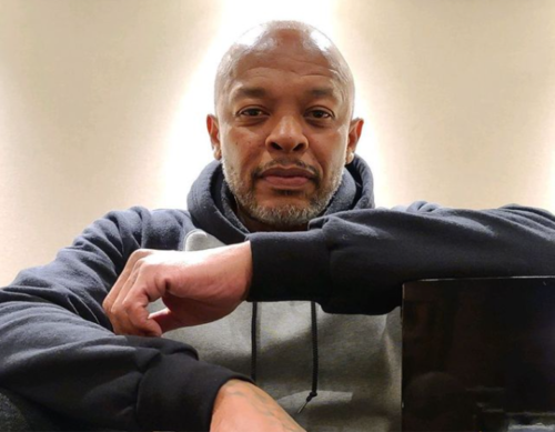 Dr. Dre Going 'All In' With Shirtless Photo in Will Smith's Fitness Challenge