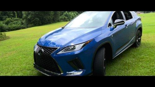 2021 Lexus RX 350 AWD F Sport 360 Video Test Drive Black Line