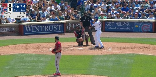 David Bote Returns to the Cubs With a No-Doubter to Left (VIDEO)