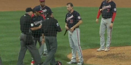 Max Scherzer Started Chucking His Gear After Being Asked to Do Multiple Sticky Stuff Screenings