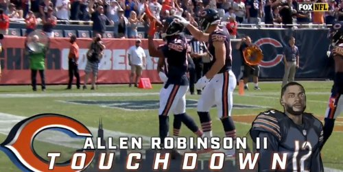 Watch Andy Dalton Hit Allen Robinson on a Game-Opening TD Drive