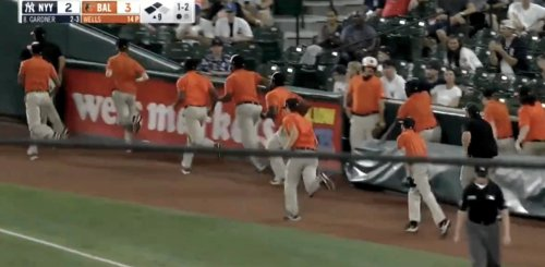 The Entire Baltimore Orioles Grounds Crew ... Just Got Ejected?