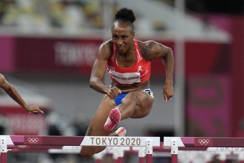 Jasmine Camacho-Quinn, Sister of Bears DE, Sets Women's 100m Hurdles Olympic Record