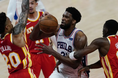 Joel Embiid, Ben Simmons Lead 76ers to Game 3 Win over Trae Young, Hawks