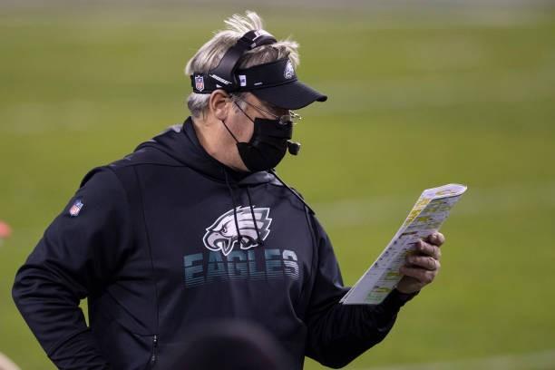 Report: Ex-Eagles HC Doug Pederson Discussing Seahawks OC Job
