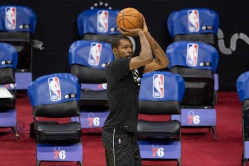 Video: 76ers Fans Chant 'KD Sucks' During Win vs. Nets