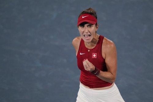 Belinda Bencic Tops Marketa Vondrousova to Win 2021 Olympic Tennis Women's Gold Medal