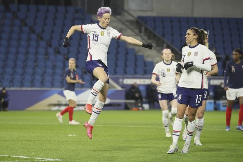 Megan Rapinoe, Alex Morgan Score as USWNT Beats France in 2021 Friendly
