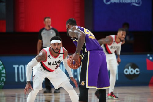 Lakers' Updated Roster, Starting Lineup After Carmelo Anthony, Malik Monk Contracts