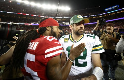 Richard Sherman: Aaron Rodgers Has Been 'Disrespected' by Packers 'For a While'