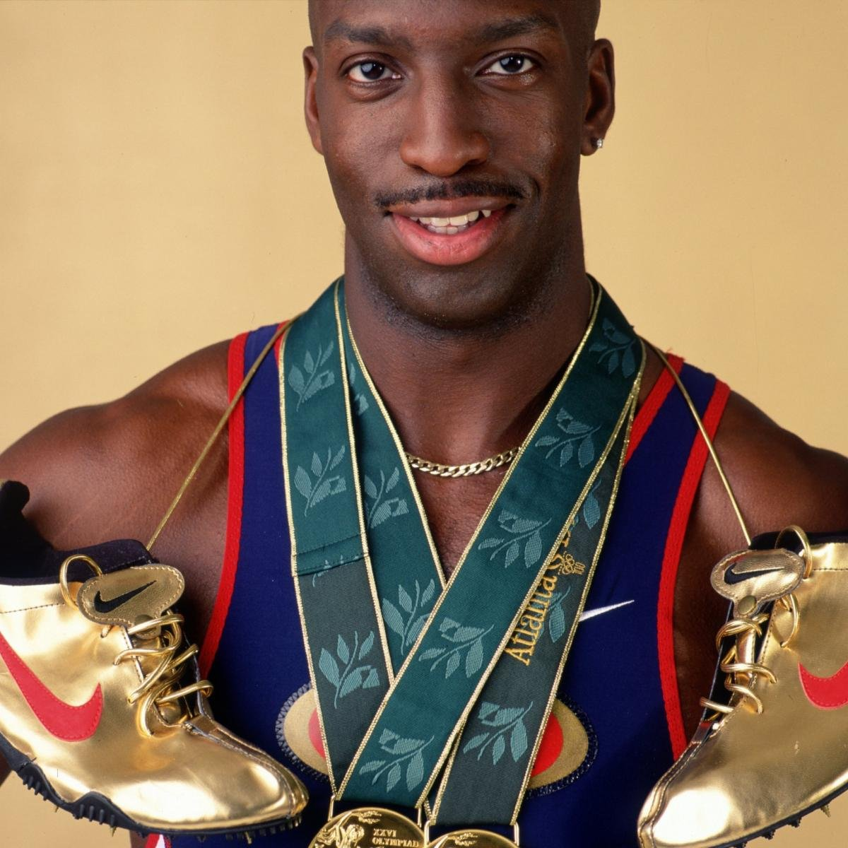 Michael Johnson and the Night the Shoes Went Golden