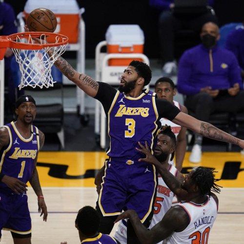 Talen Horton-Tucker Buzzer-Beater Gives Lakers OT Win vs. Knicks