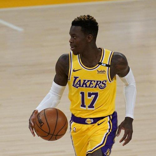 Lakers 'Hopeful' Dennis Schroder Will Play in Final 2 Regular-Season Games