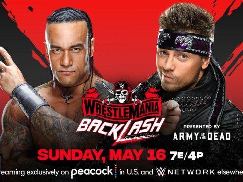 Damian Priest Beats The Miz in Lumberjack Match at WWE WrestleMania Backlash