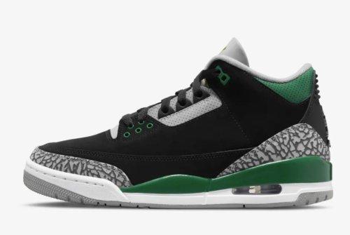 Air Jordan 3 'Pine Green' Drops Oct. 30
