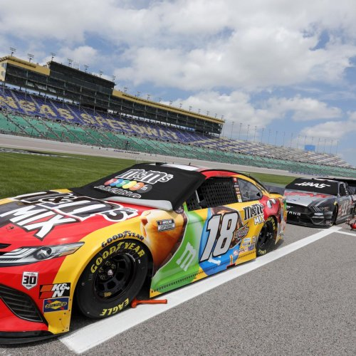 NASCAR at Kansas 2021 Results: Kyle Busch Wins Buschy McBusch Race on Birthday