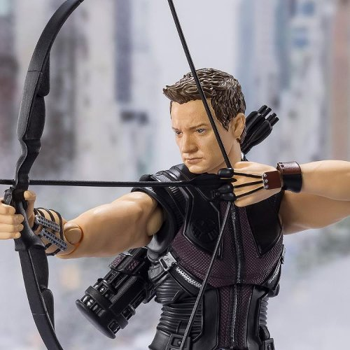 Hawkeye Takes His Shot With New Marvel S.H. Figuarts Release
