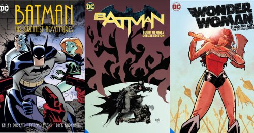 DC Comics Cancels Batman And Wonder Woman Collections