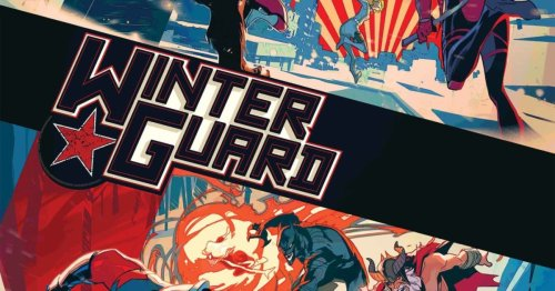 Marvel Double Preview: Winter Guard #2 and Darkhawk #2