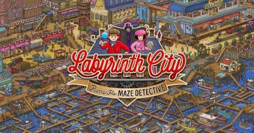 Labyrinth City: Pierre The Maze Detective Reveals Launch Trailer