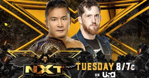 NXT Preview For 6/22: Kushida Vs. O'Reilly For The Cruiserweight Title