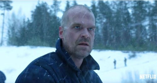 """Stranger Things: David Harbour Loves Wings, Hates """"F****ng Byers Dog"""""""