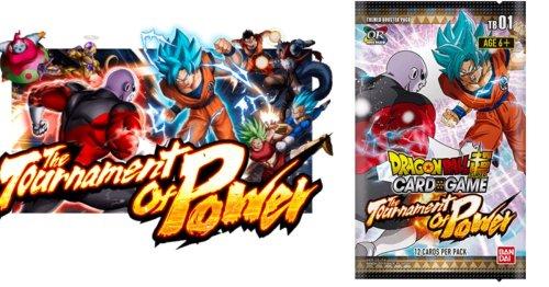 Dragon Ball Super Card Game: The Tournament of Power Checklist