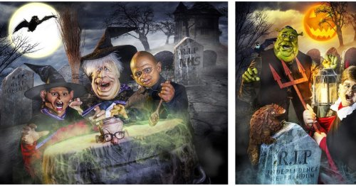Spitting Image Returns To ITV For Halloween