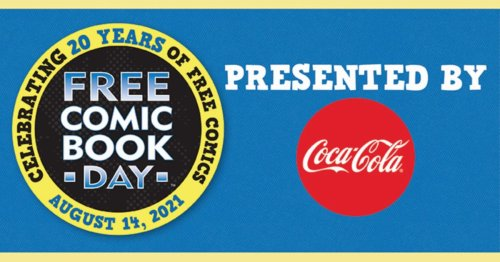 Coca-Cola To Sponsor Free Comic Book Day For 2021