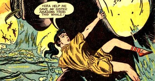 A Twist on Wonder Woman's Origin in Wonder Woman #105 at Auction