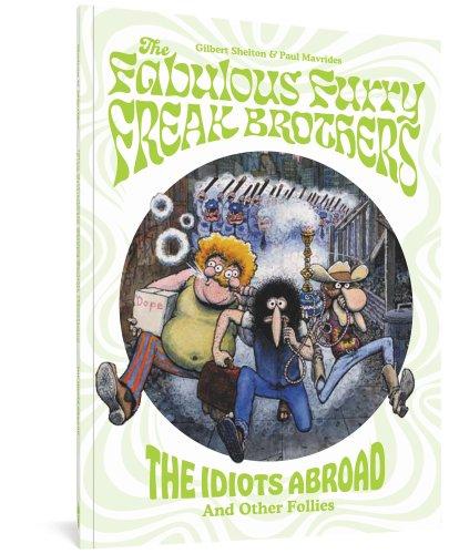 Fantagraphics Publish Fabulous Furry Freak Brothers Ahead Of TV Show