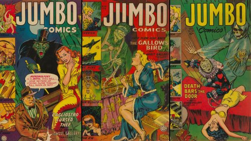 The Overlooked Artistry of Maurice Whitman's Jumbo Comics, at Auction