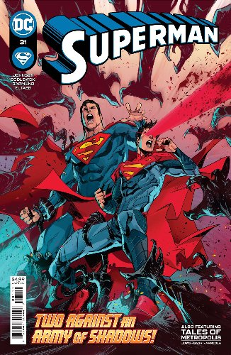 Superman and Son in Big Trouble in Superman #31 [Preview]